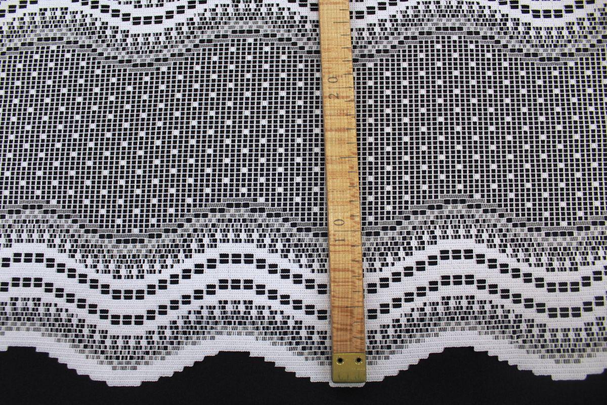 Záclona - výška 100 cm.